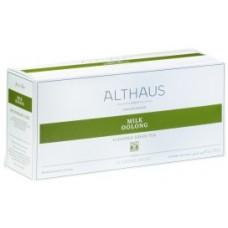 Чай зеленый в пакетиках для чайника Althaus Milk Oolong (Альтхаус Mолочный Улун), 20 шт.*4 г.